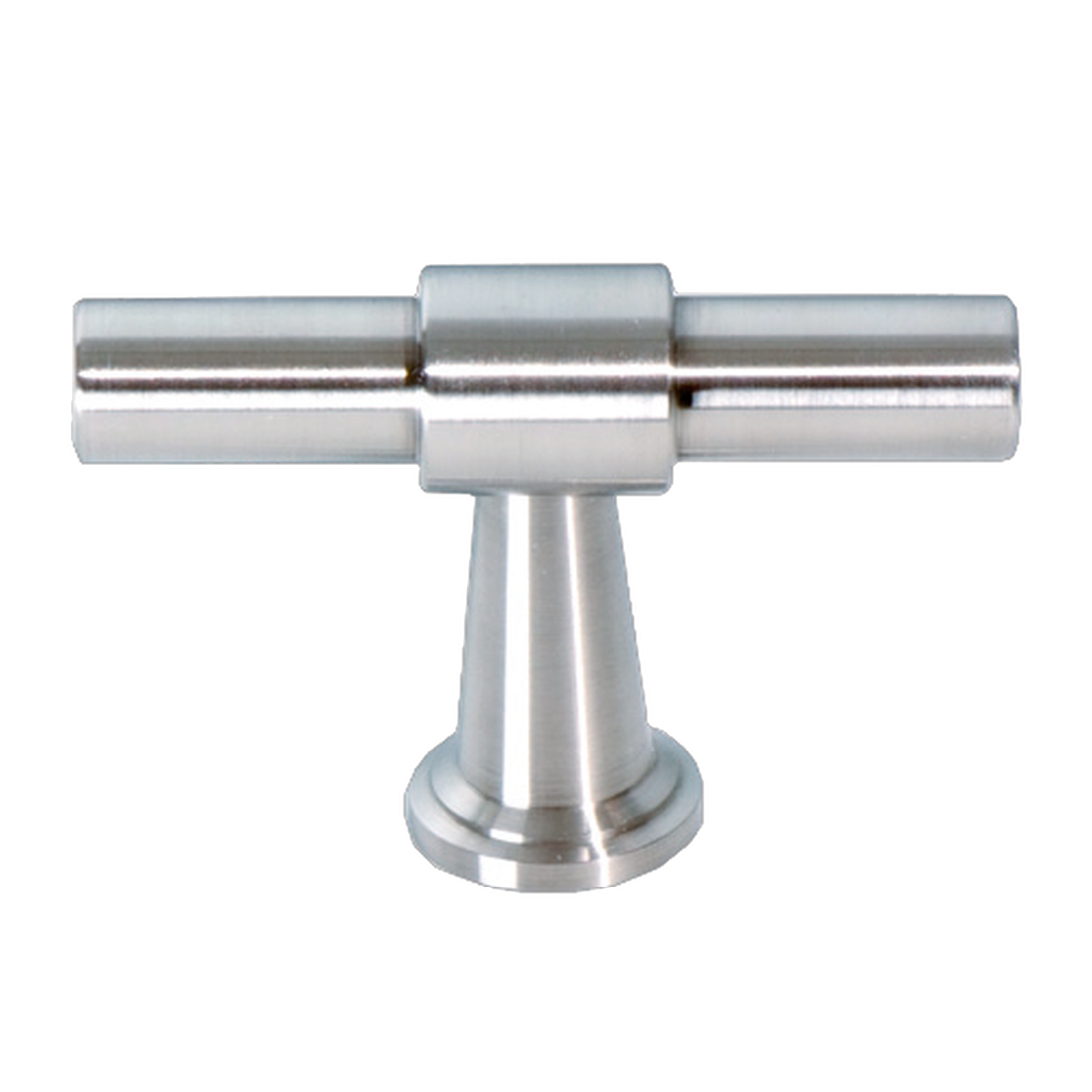 FURNITURE KNOB COMO 10/14MM, SATIN STAINLESS STEEL