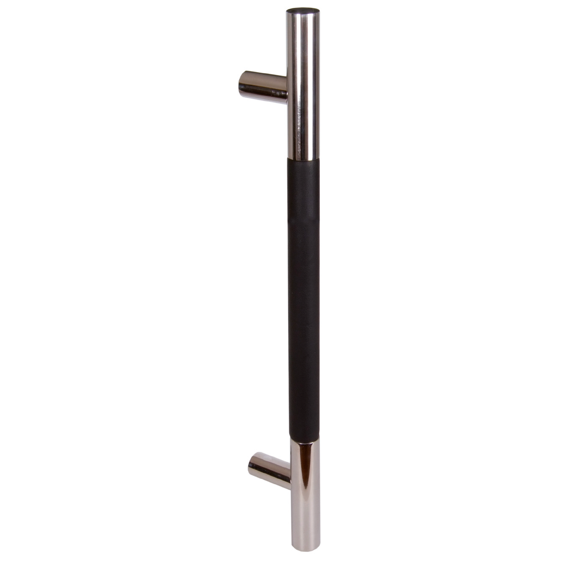 IMPERO/LEATHER BLACK, PLAIN, POLISHED, DRILLING DISTANCE 400MM, SINGLE HANDLE
