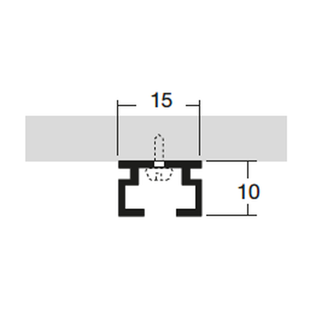 PROFILE FOR CEILING/BOTTOM