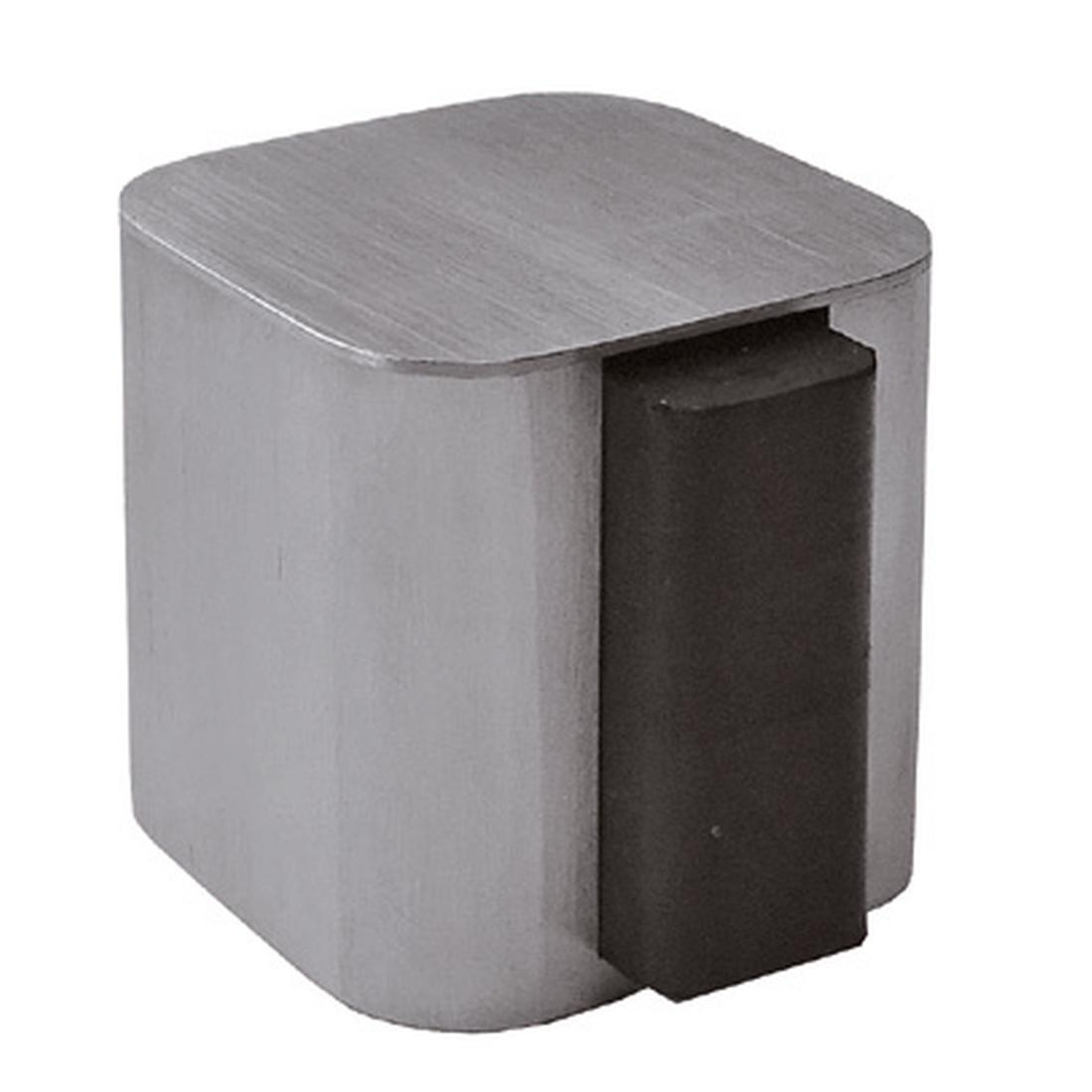 DOOR STOPPER FOR FLOOR MOUNTING, [/] 40/40MM, 2 X SCREWS AND DOWELS