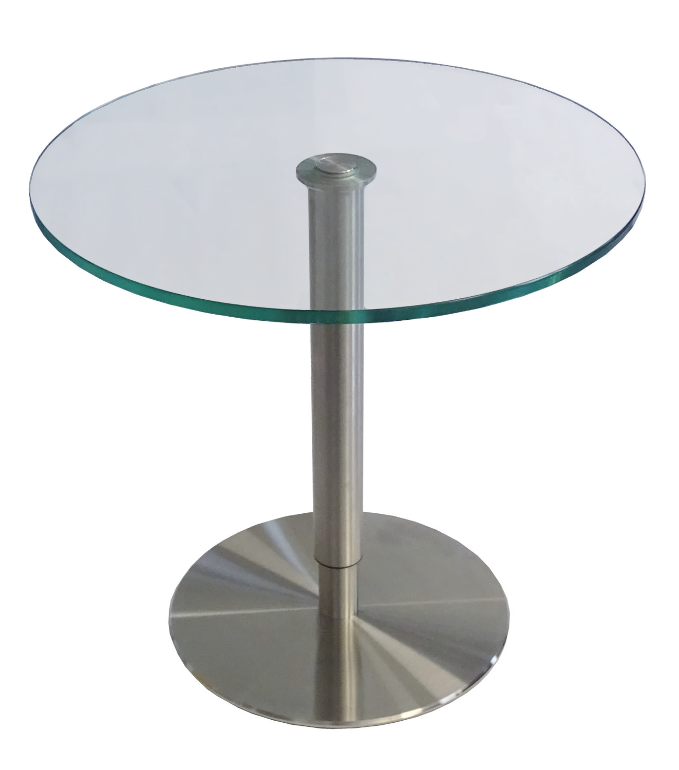 SIDE TABLE WITH PNEUMATIC HEIGHT ADJUSTMENT
