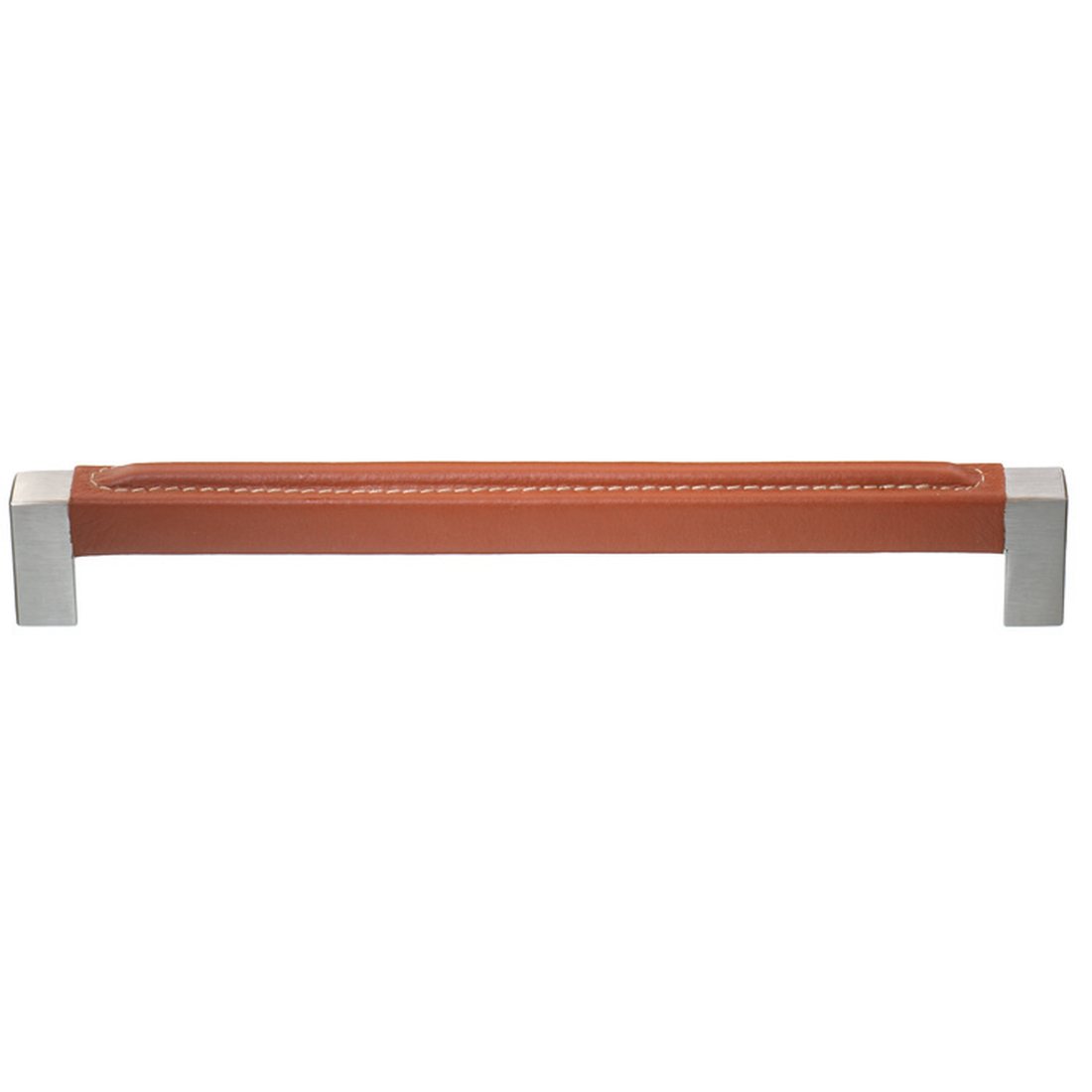 CALUS HANDLE 12X12MM, WITH STITCHED LEATHER