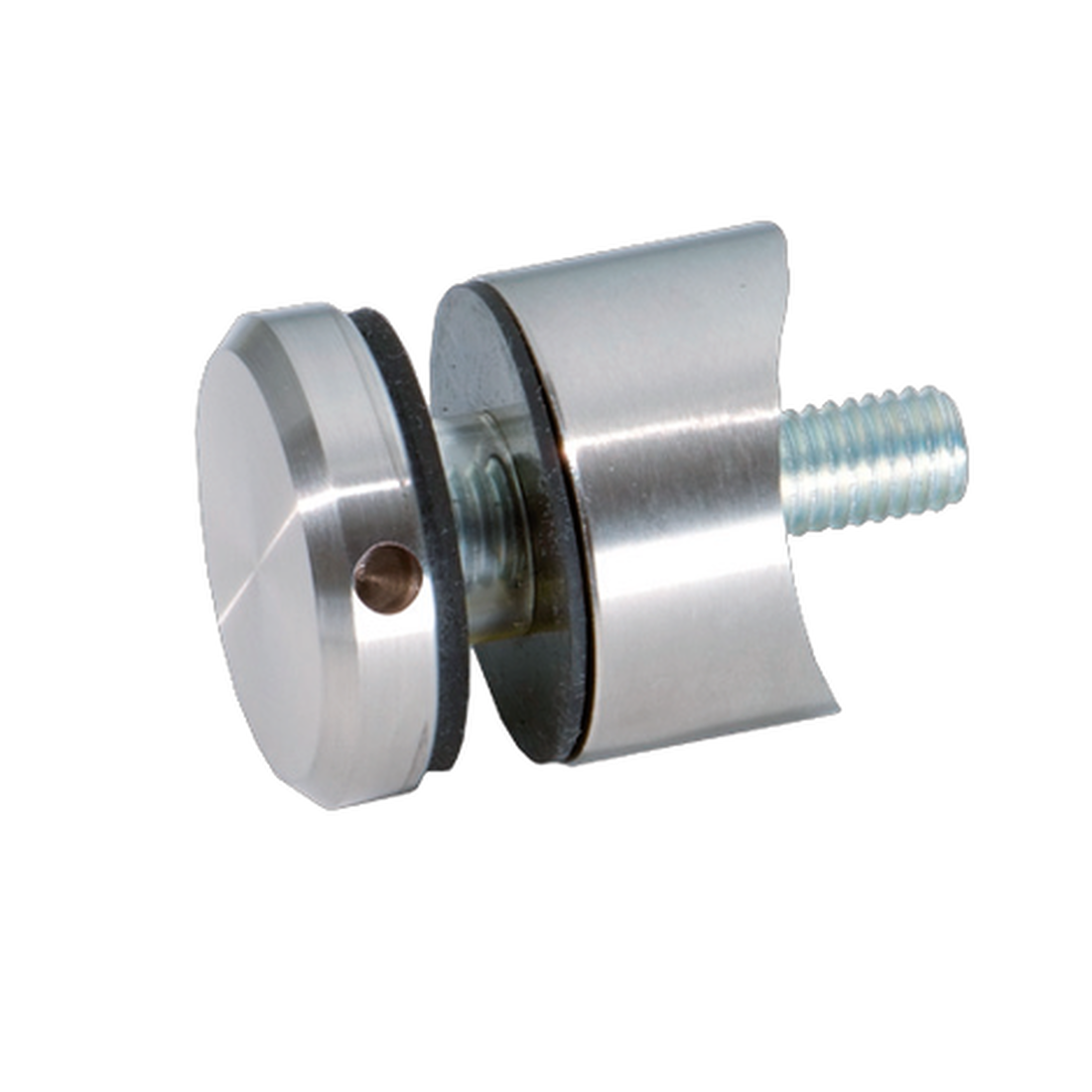 DISTANCE HOLDER WITH TIGHTENING SCREW IN HOLE FOR ROUND TUBE Ø 30-32MM