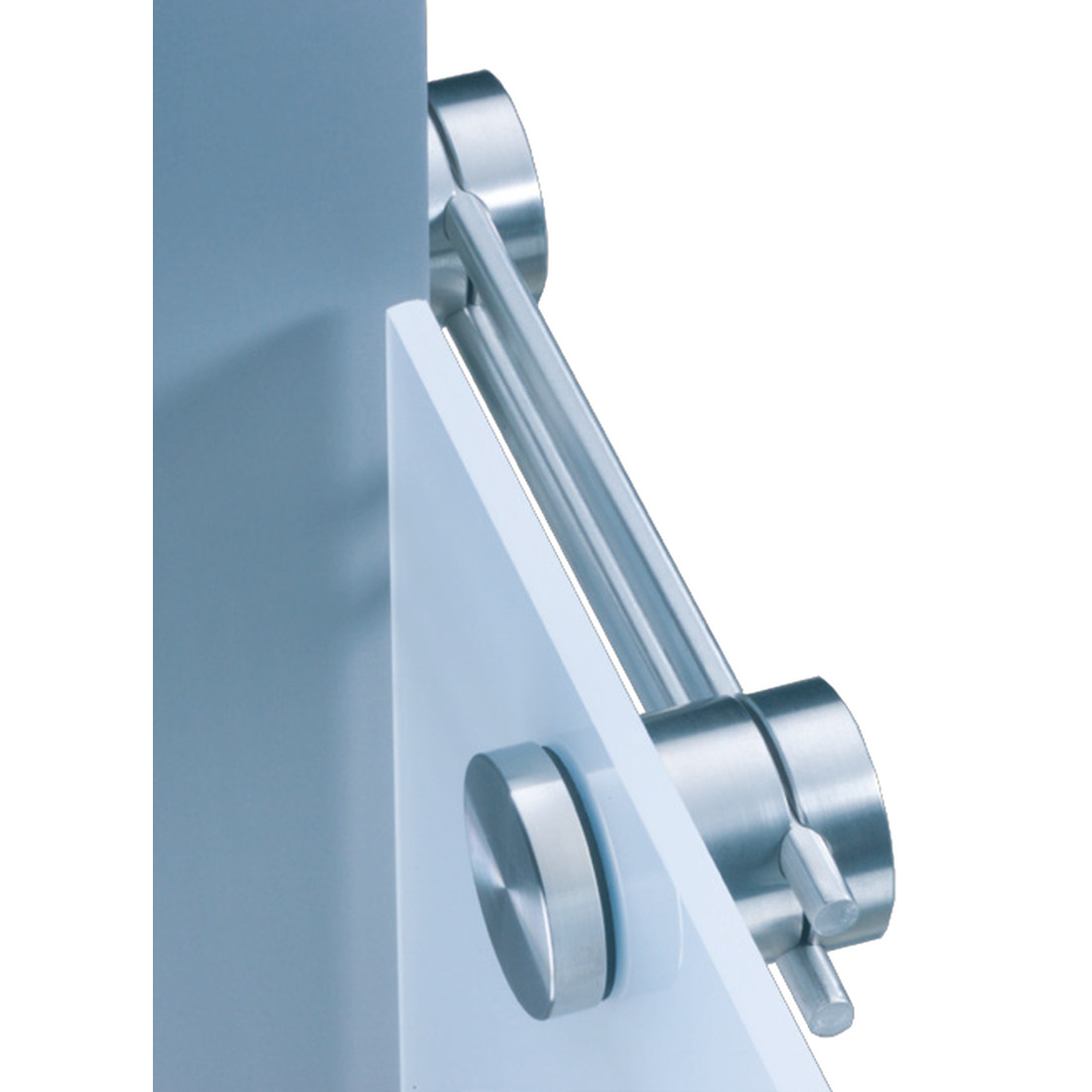 DUETEC 180°-CONNECTOR, GLASS-WALL