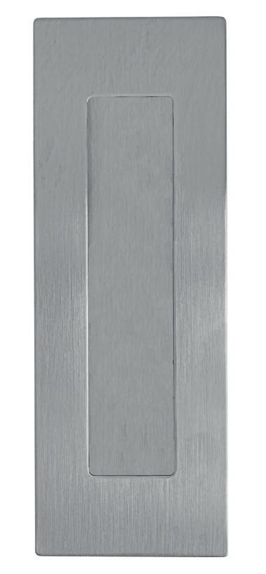 GRIFFMUSCHEL, EDELSTAHL FEINSCHLIFF, 150x50MM