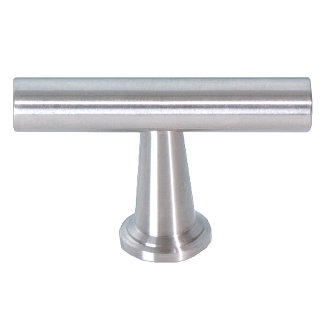 FURNITURE KNOB CARUS ø 11MM, SATIN STAINLESS STEEL