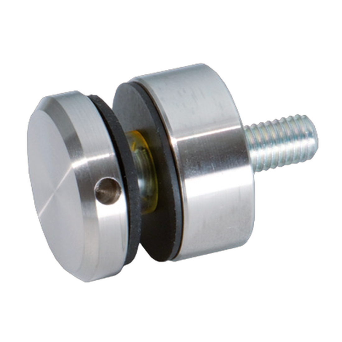 DISTANCE HOLDER WITH TIGHTENING SCREW IN HOLE FOR SQUARE TUBE